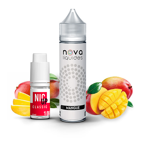 Nova Liquides Mangue 60ml E-liquid