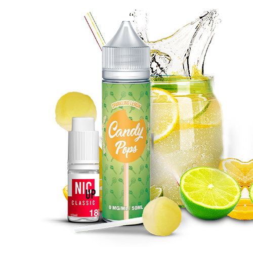 Sparking Lemon 60ml - Candy Pops