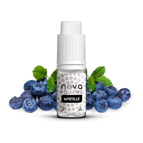 Nova Liquides Myrtille 10ml E-liquid | vapeur france